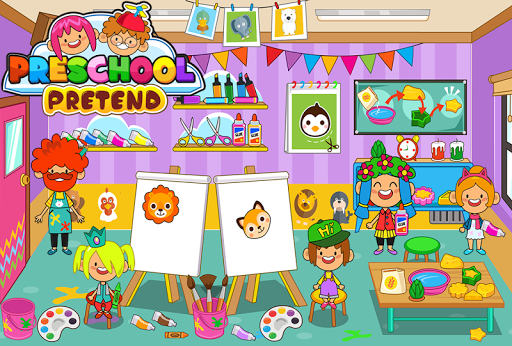 Pretend Preschool - Kids School Learning Games 1.3 DreamHackers 4