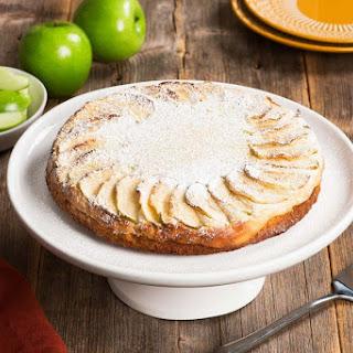 Cream Cheese Swedish Apple Cake.