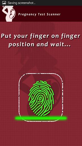 Pregnancy Test Scanner Prank Screenshot