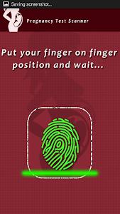 Pregnancy Test Scanner Prank screenshot 1