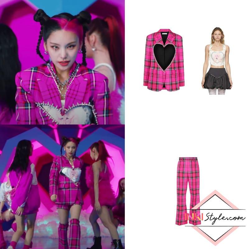 ITZY-LOCO-MV-Kpop-Fashion-Yeji-Look-1-2