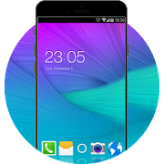 Theme for Samsung Galaxy Note 4 HD