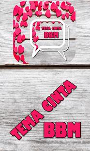 Tema Cinta BBM™ screenshot