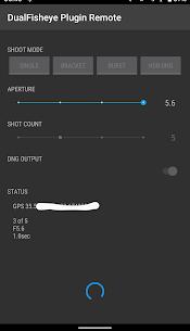 DualFisheye Plugin Remote 2