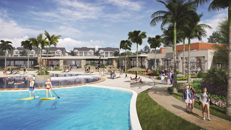 The plan for Balwin's The Blyde in Riverwalk Estate development. Picture: SUPPLIED