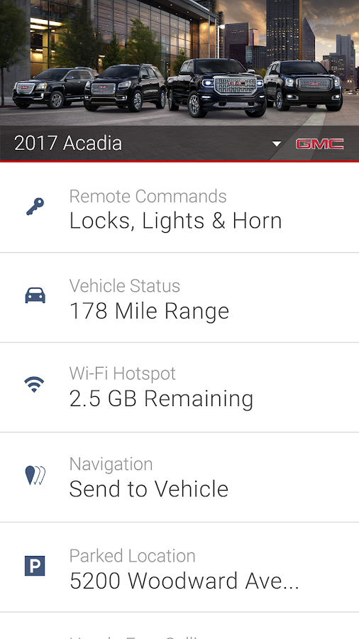Gmc Remote Start App For Android >> myGMC - Android Apps on Google Play