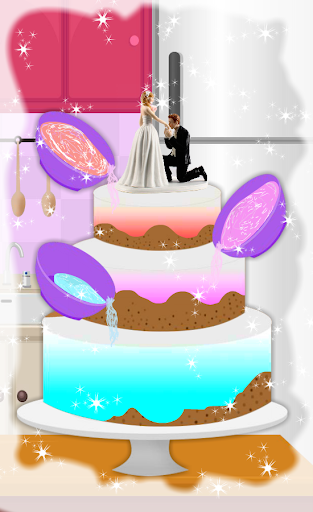Cooking Tasty Wedding Cake 4.1 screenshots 8