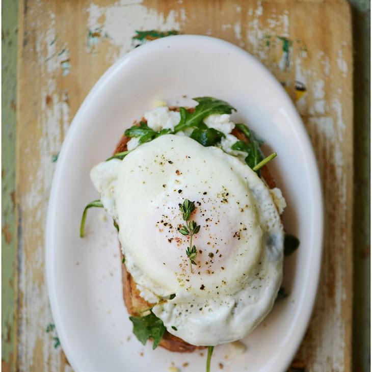 Open Face Breakfast Sandwich Recipe