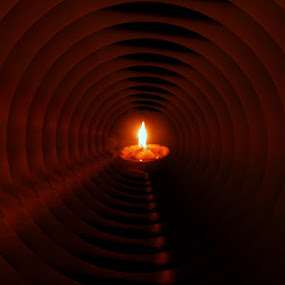 Abstract by Ashish Bikram Thapa - Abstract Patterns ( abstract, candle, patterns, night, fire )