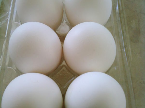 Boil the eggs and immediately (Peel the eggs)(the eggs should be hot. Be carefull...