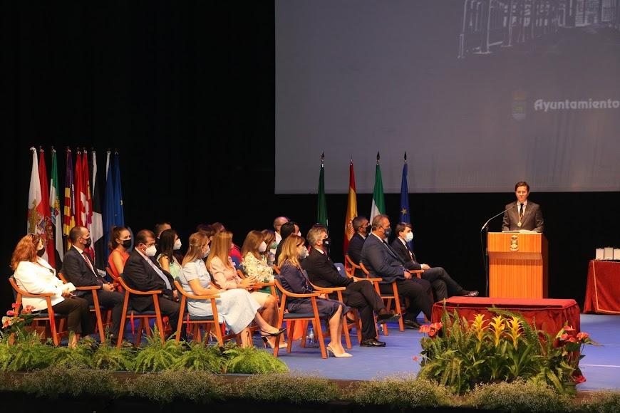 El Teatro Auditorio de El Ejido acogió el acto.