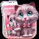 Cute Furry Cat Theme apk