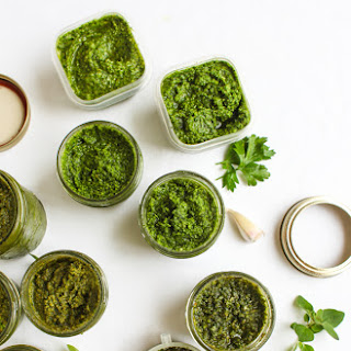 Oregano-Hazelnut Pesto Recipe