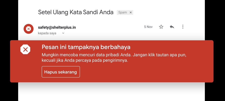 Izvairīšanās no aizdomīgiem e-pasta ziņojumiem