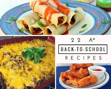 22 A+ Back-To-School Recipes