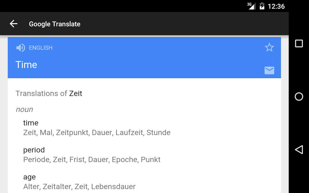 Der Die Das - German articles- screenshot