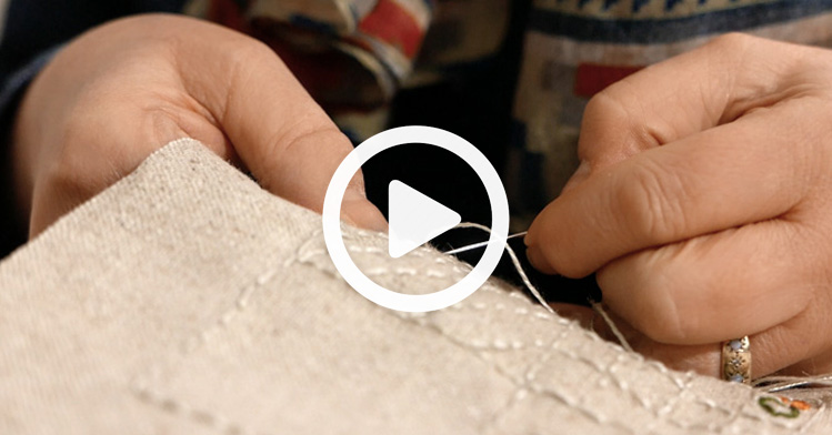 A system for experimenting with textiles free video training