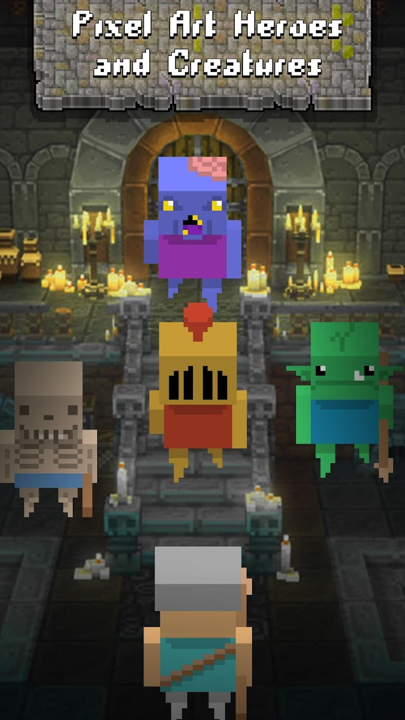 Скриншот Dungeon raid Heroes