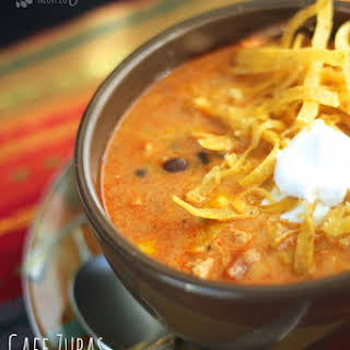 Our Version of Cafe Zupas Chicken Enchilada Chili.
