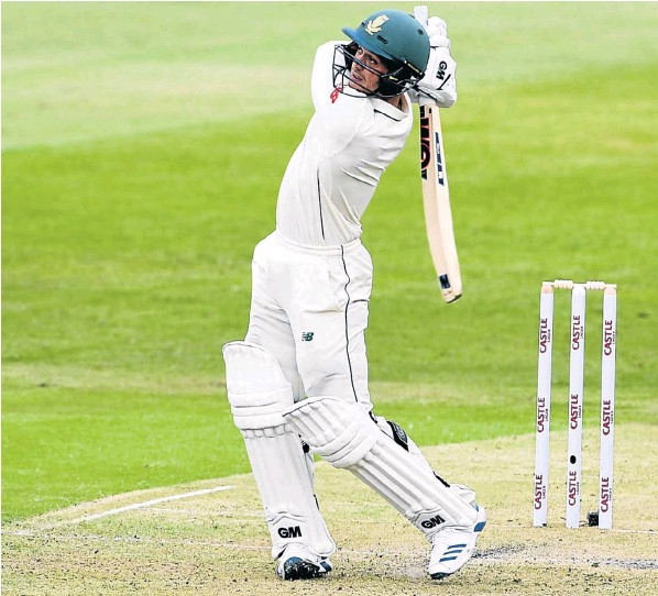Quinton de Kock of the Proteas in action during day one of the first Test match against Sri Lanka at Kingsmead on Wednesday