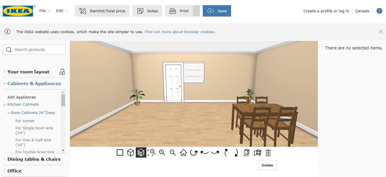IKEA product visualization