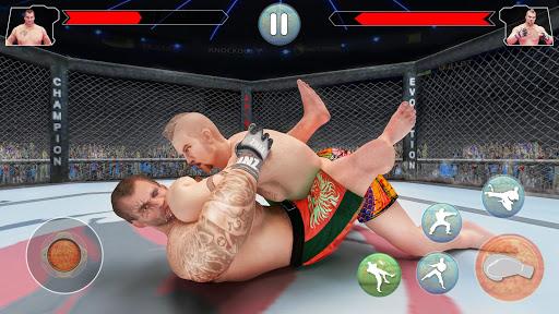 MMA Fighting Revolution: chef d'art martial mixte  captures d'écran 1