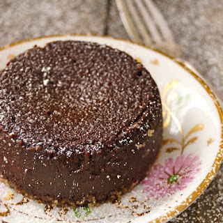 Flourless Chocolate Kahlúa-Espresso Decadence Cake