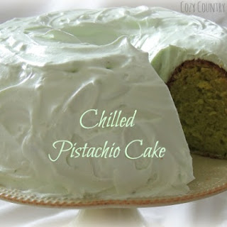 Chilled Pistachio Cake