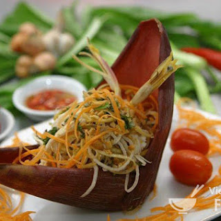 Description Vietnamese Banana Flower Salad (Gỏi Bắp Chuối Chay)