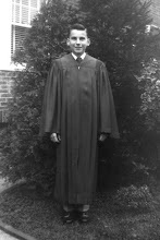 Photo: Robert F. Wagner after graduation from St. Martin's in 1951.