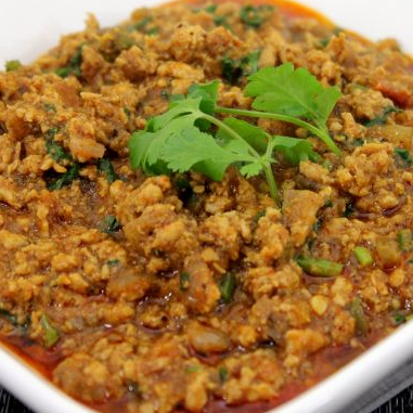 Chicken Kheema Hari Mirch