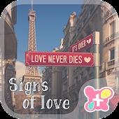 Cute wallpaper-Signs of Love-