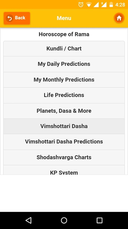 Kundli Software - Astrology- screenshot