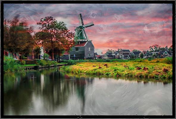 Paesaggio olandese di stefytina