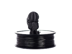 Black MH Build Series PLA Filament - 3.00mm (1kg)