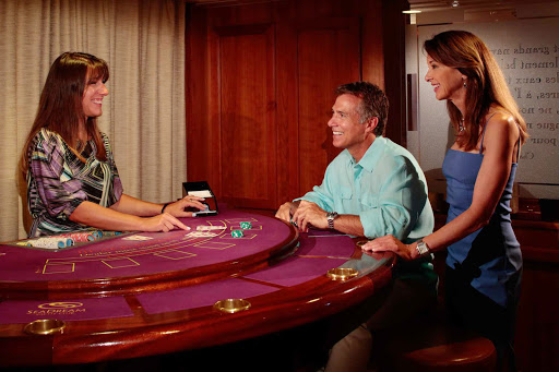 Seadream-games-chance.jpg - Evenings allow for games of chance on SeaDream Yacht Club cruises.