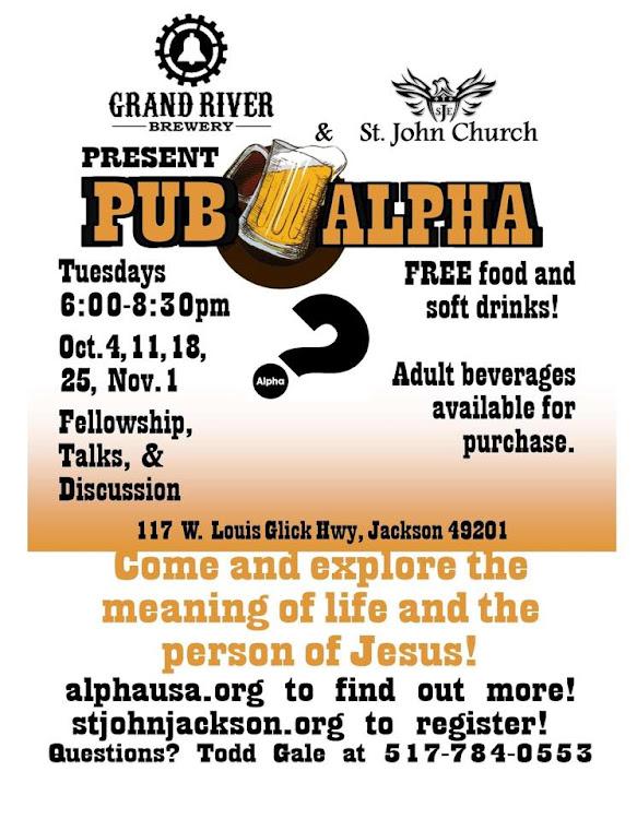 Logo for Pub Alpha @ Grand River Brewery