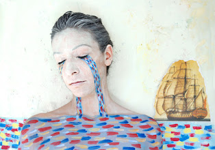 Photo: Body painting Mar de lagrimas