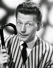 Photo: A comedy star like Donald O'Connor was treated in a quite different visual manner.  The emphasis is on 'character': through facial expression, props, and costume.  The hair is still shiny, but the implication is not: glamour.
