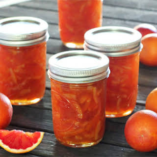 Blood Orange Marmalade.