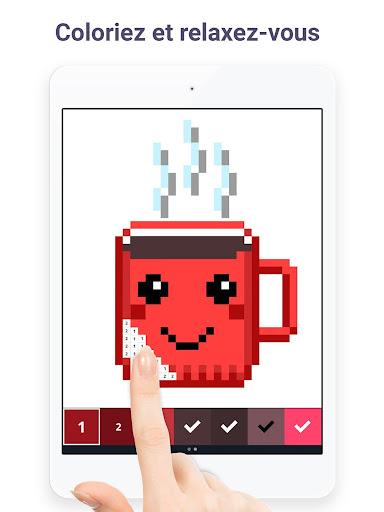 Pixel Art Livre De Peinture à Numéros Revenue Download