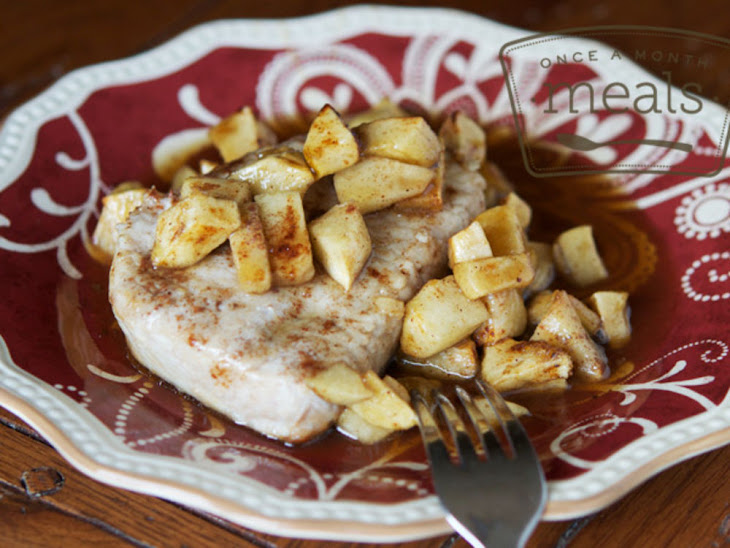 Gluten Free and Dairy Free Pork Chops and Apples Recipe