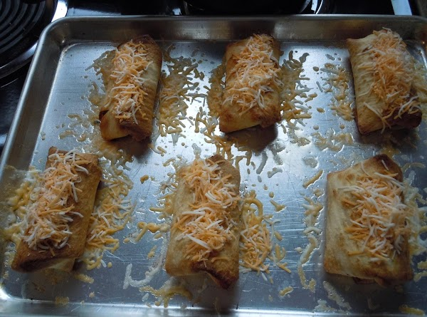remove from oven, top with cheese and return to oven for 5 minutes or...