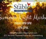 Summer Night Market : The Stables Village Center