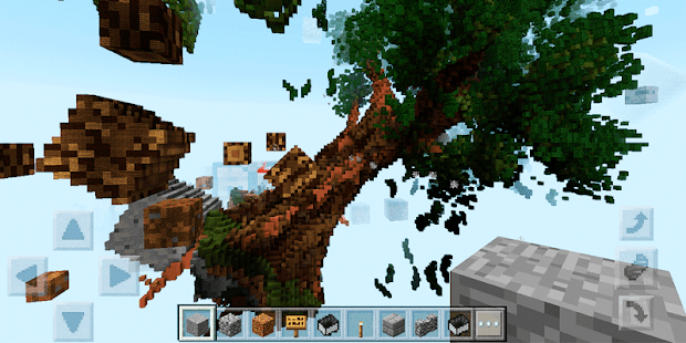 Ten Wonders in the sky. Map for MCPE - náhled