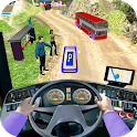 Modern Bus Drive 3D Parking new Games - Bus Games icon