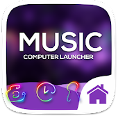 IMusic Theme For Computer Launcher