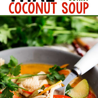 Thai Chicken Curry Coconut Soup