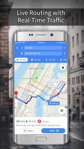 GPS, Maps, Navigations, Directions & Live Traffic 1.39.0 screenshots 2