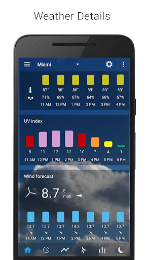 3D Sense Clock & Weather screenshot 4